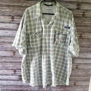Men's Columbia Super Bahama PFG Button-down Shirt